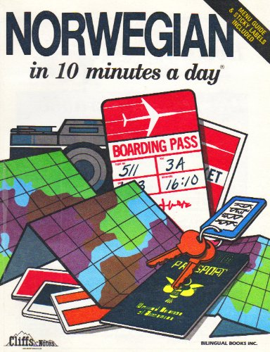 9780916682910: Norwegian in 10 Minutes A Day
