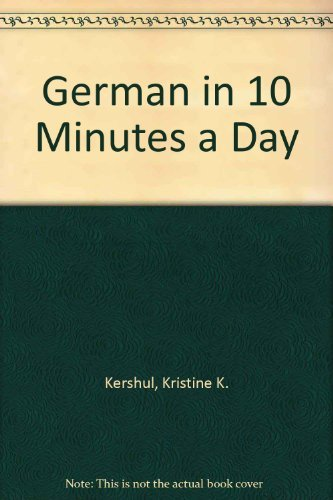 9780916682996: GERMAN in 10 minutes a day