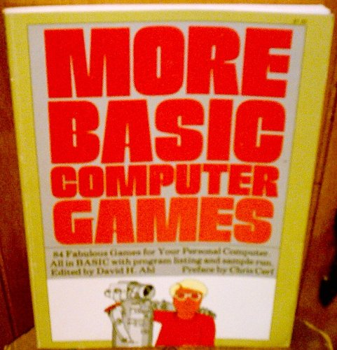 9780916688097: More BASIC Computer Games