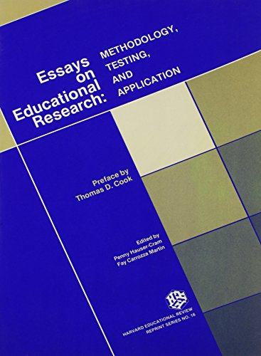 Essays on Educational Research Methodology Testing and: Fay Carrozza-Martin; Penny