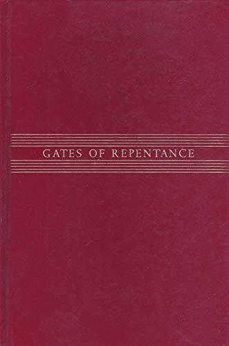 Gates of Repentance: The New Union Prayerbook