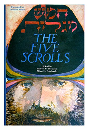 9780916694814: The Five Scrolls: Hebrew Texts, English Translations, Introductions, and New Liturgies (Deluxe) (English and Hebrew Edition)
