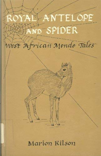 Royal antelope and spider West African Mende: Kilson, Marion