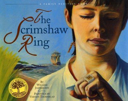9780916718190: The Scrimshaw Ring (Vermont Folklife Center Children's Book Series)