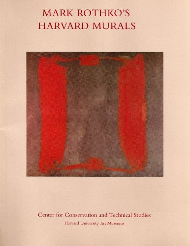 9780916724696: Mark Rothko's Harvard Murals