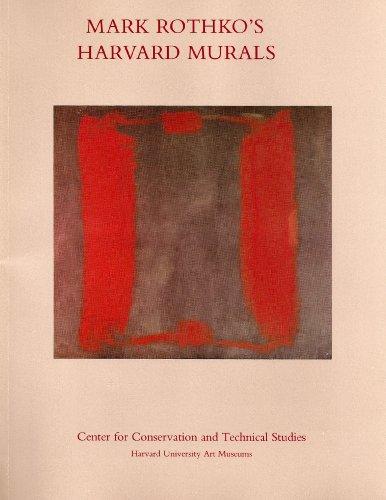 9780916724696: Mark Rothko's Harvard Murals