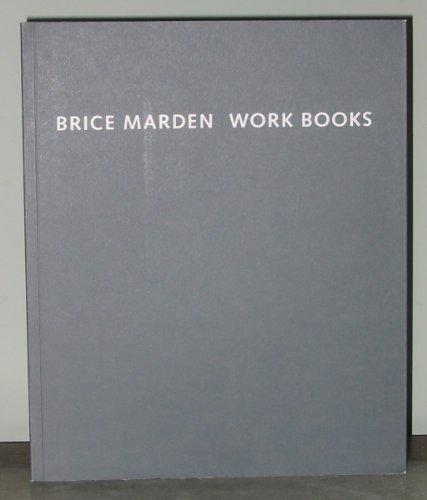 9780916724955: Brice Marden: Work Books 1964-1995