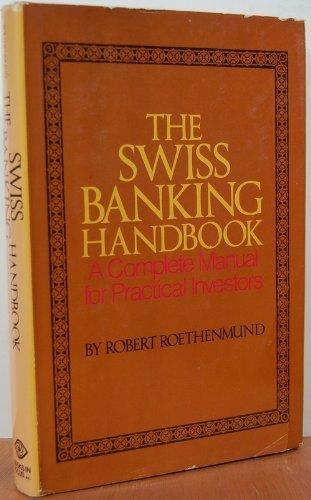 The Swiss Banking Handbook: Robert Roethenmund