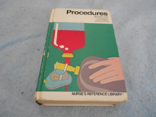 9780916730406: Procedures. (Nurse's Reference Library)