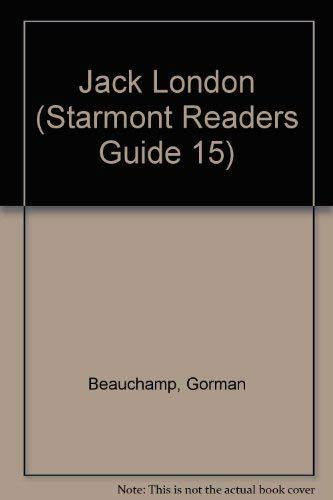 9780916732394: Jack London (Starmont Readers Guide 15)