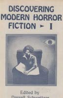 9780916732936: Discovering Modern Horror Fiction (Starmont Studies in Literary Criticism)