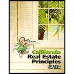 California real estate principles: Huber, Walter Roy
