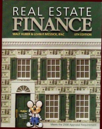 9780916772444: Real Estate Finance