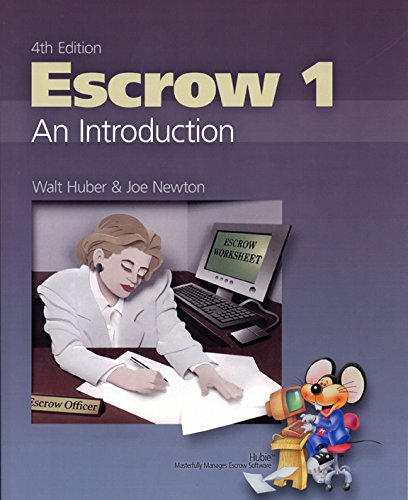 9780916772635: Escrow 1 An Introduction Fourth Edition