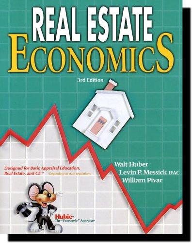 9780916772680: Real Estate Economics