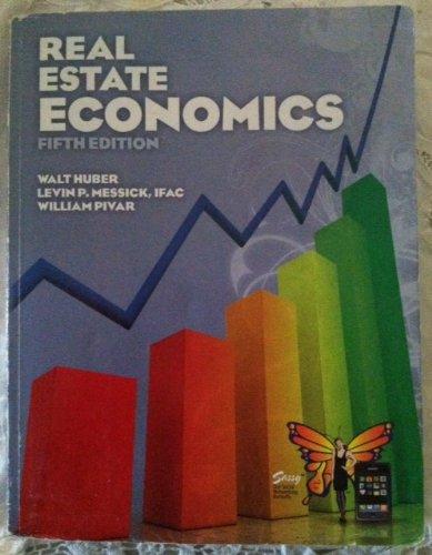 9780916772697: Real Estate Economics