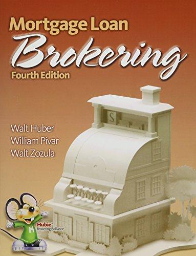 9780916772734: Mortgage Loan Brokering
