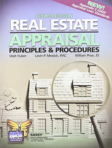 9780916772765: Real Estate Appraisal Principles and Procedures