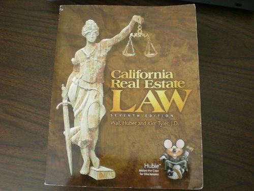California Real Estate Law: Walt Huber