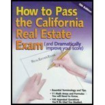 9780916772871: How To Pass the California Real Estate Examination