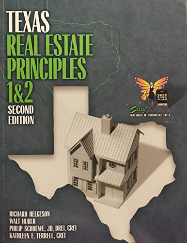 Texas Real Estate Principles I & II Second Edition: Helgeson, Richard