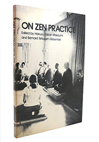 9780916820022: On Zen Practice