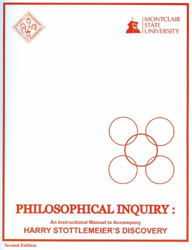 9780916834371: Philosophical Inquiry: Instructional Manual to Accompany Harry Stottlemeier's Discovery