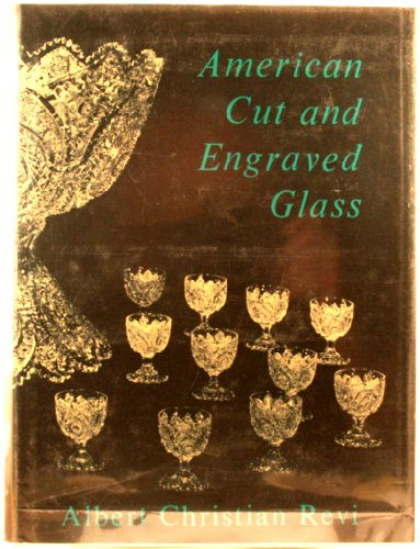 American Cut and Engraved Glass