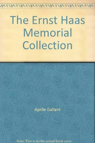 9780916857158: The Ernst Haas Memorial Collection