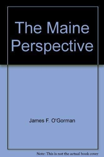 Maine Perspective: Architectural Drawings, 1800-1980.