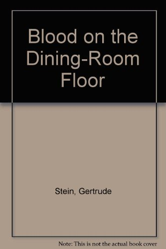 9780916870508: Blood on the Dining-Room Floor