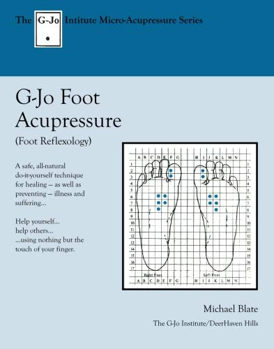 9780916878221: G-Jo Foot Acupressure: Micro-Acupressure Series (The G-Jo Institute Self-Health Series)