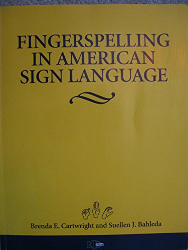 9780916883348: Fingerspelling in American Sign Language