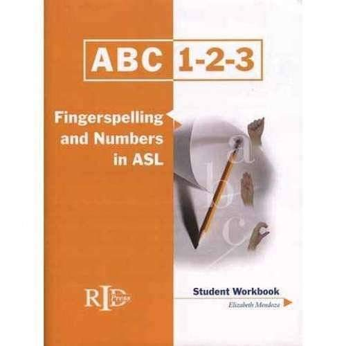 9780916883447: ABC 1-2-3: Fingerspelling and Numbers in ASL