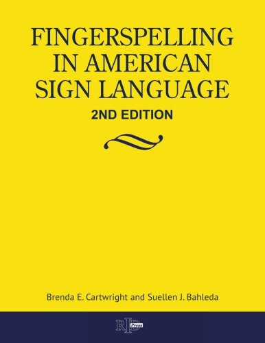9780916883478: Fingerspelling in American Sign Language