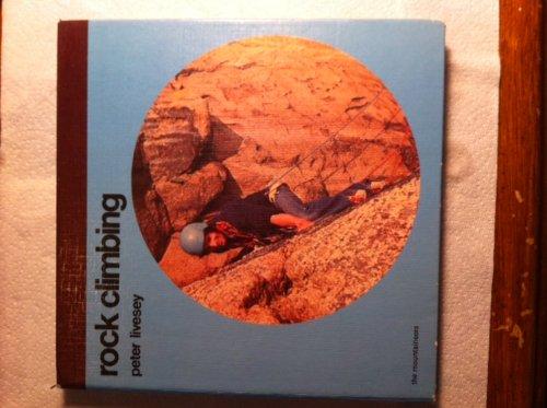 Rock climbing: Livesey, Peter