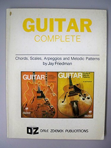 9780916902117: Guitar Complete: Chords, Scales, Arpeggios and Melodic Patterns