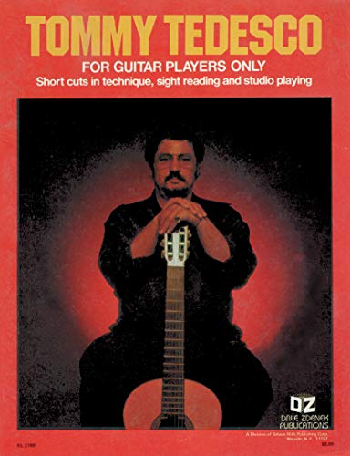 9780916902124: For Guitar Players Only: Short Cuts in Technique, Sight Reading and Studio Playing