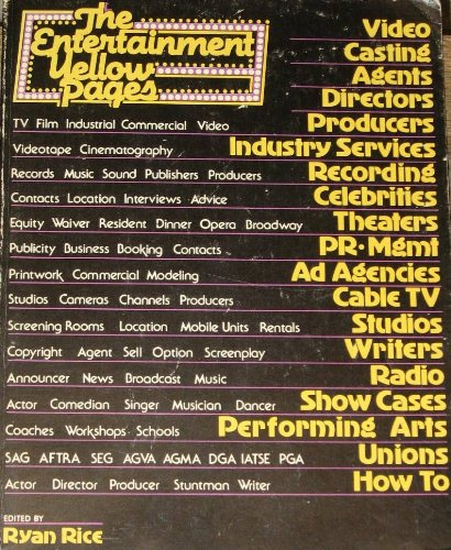 The Entertainment yellow pages