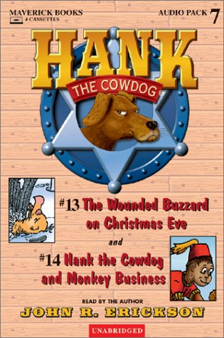 9780916941673: The Wounded Buzzard on Christmas Eve / Monkey Business (Hank the Cowdog)