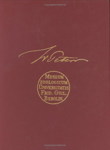 9780916984359: Herpetological Contributions of Wilhelm C.H. Peters (Facsimile Reprints in Herpetology)