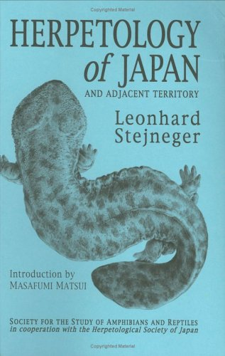 Herpetology of Japan and Adjacent Territory