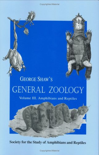 9780916984489: General Zoology, Volume 3 (Facsimile reprints in herpetology)