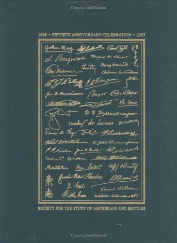 Contributions to the History of Herpetology, Volume 2: Kraig Adler, John S. Applegarth, Ronald ...
