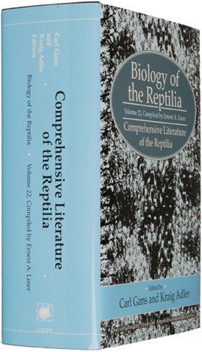 9780916984809: 22: Biology of the Reptilia: Comprehensive Literature of the Reptilia
