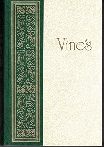 Vine's Expository Dictionary of New Testament Words: A Comprehensive Dictionary of the Original Greek Words with their Precise Meanings for English Readers (0917006038) by W. E. Vine