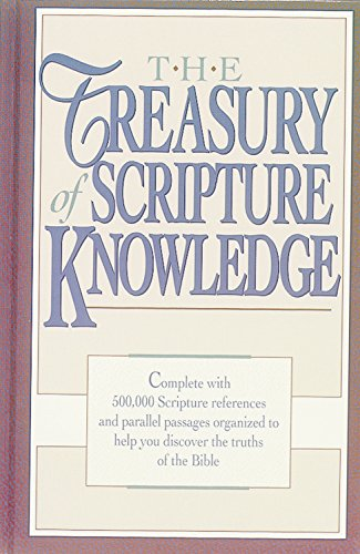 9780917006227: The Treasury of Scripture Knowledge