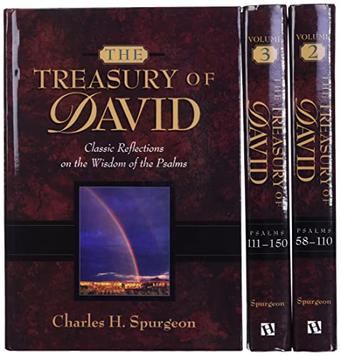 9780917006258: The Treasury of David: A Commentary on Psalms