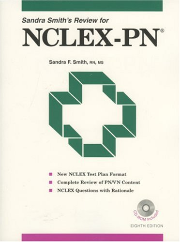 9780917010767: Sandra Smith's Review for NCLEX-PN, Eighth Edition (Sandra Smith's Review for the NCLEX-PN)