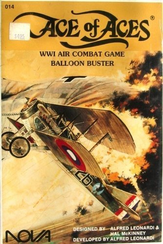 9780917037030: Ace of Aces Ww1 Air Combat Game Balloon Buster (WW1 Air Combat)